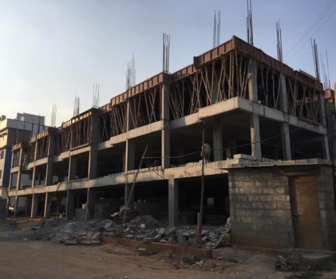10 March 2019 First Floor Column and Slab