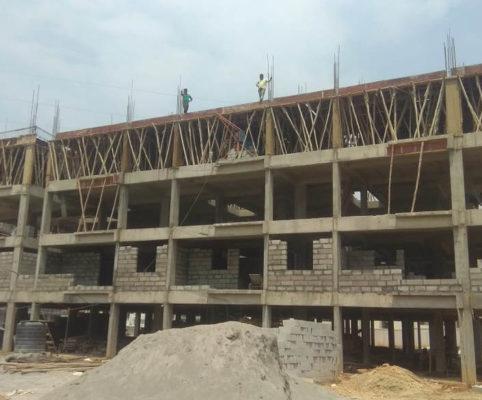 11 April 2019 – Second Floor Column and Slab
