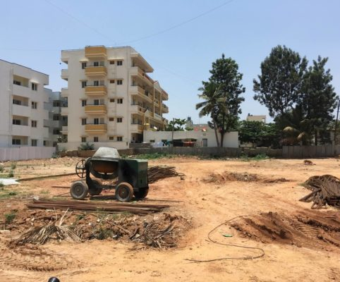 2 July 2018 Levelling of Ground