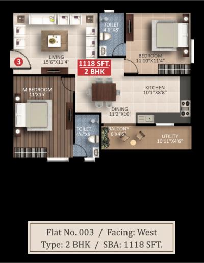 saritha-splendor-lsr-floor-plan-2bhk-1118-sqft