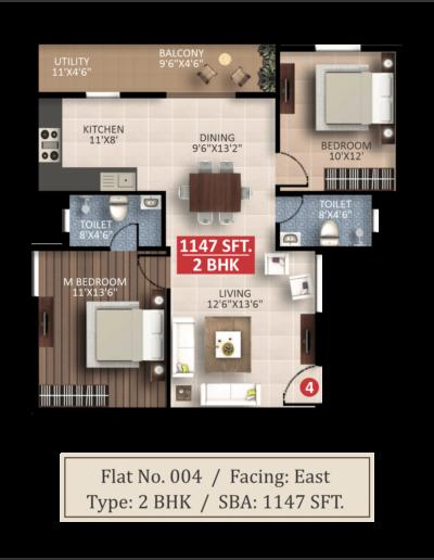 splendor-Lsr-floor-plan-2bhk