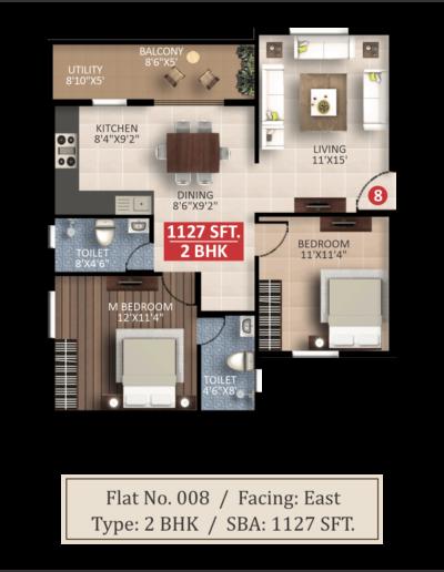 splendor-lsr-floor-plan-2bhk-1127-sqft