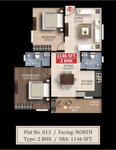 saritha-splendor-lsr-2bhk-floor-plan-1146-sqft