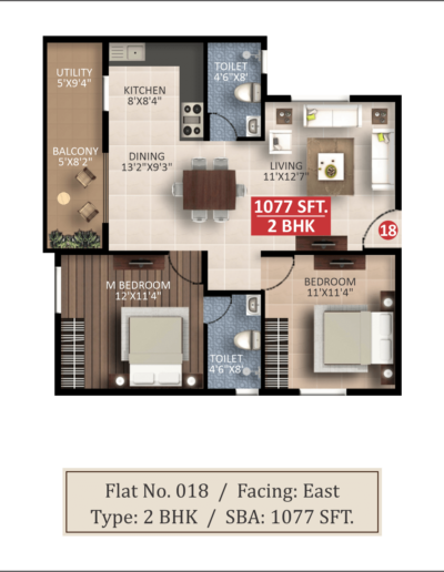 saritha-splendor-lsr-2bhk-floor-plan