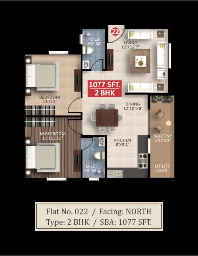 saritha-splendor-itpl-floor-plan-2bhk-1077-sqft
